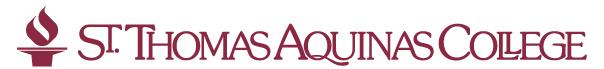 St. Thomas Aquinas College Moodlerooms